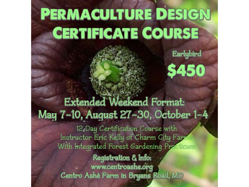 Maryland Permaculture Design Certification Course (Weekend Series ...