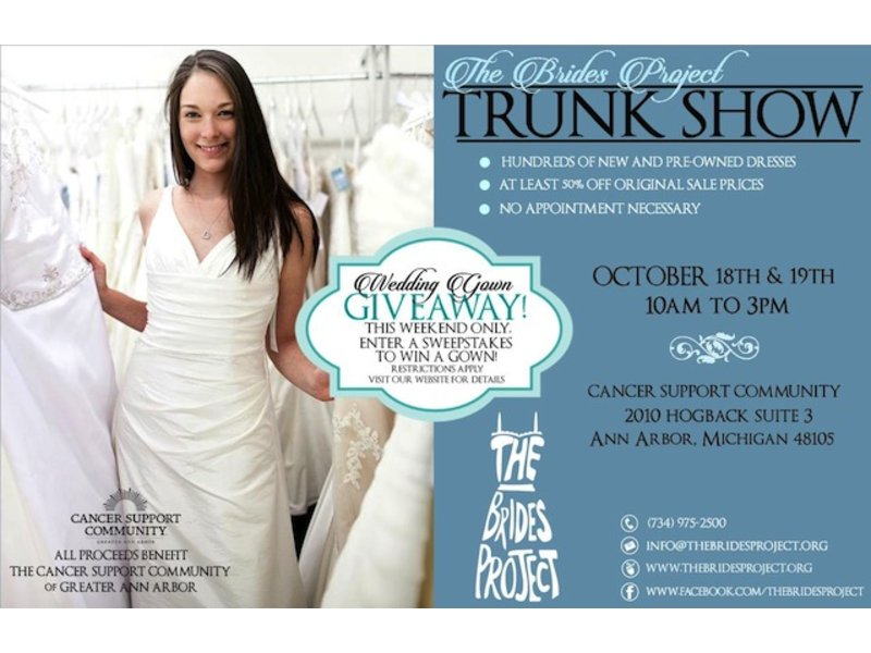 Wedding Gown Trunk Sale Oct 18-19 | Huntington Woods, MI Patch