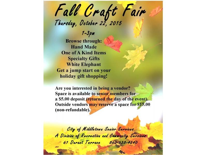 Craft Fair Vendors Ct
