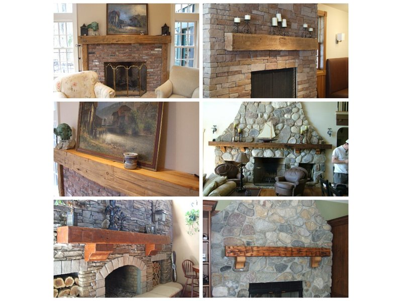 Wood Fireplace barnwood fireplace : Old Distressed Recycled and Reclaimed Rustic Barn Wood Fireplace ...