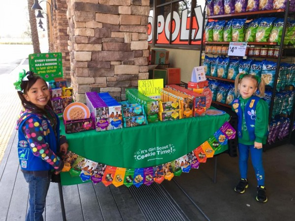 last weekend to buy girl scout cookies   redlands ca patch