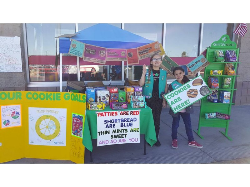 last weekend to buy girl scout cookies palm desert ca