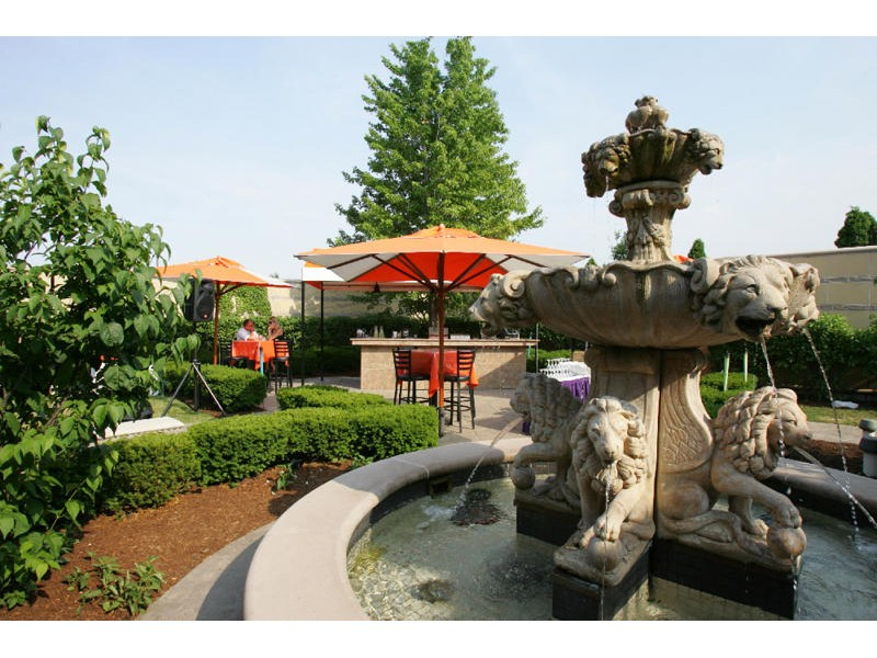 Charming Carlucci Restaurant Patio Party