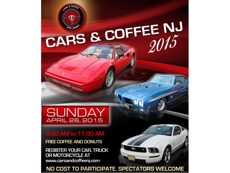 Cars And Coffee New Jersey Car Show April Th Manalapan NJ Patch - Car shows in nj