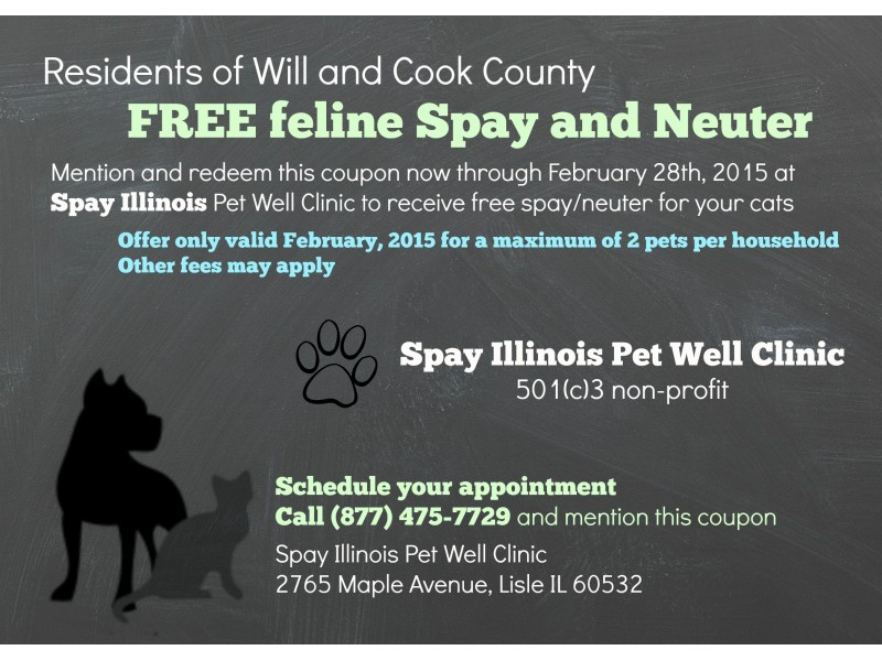 Spay and neuter coupons free