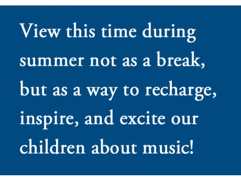 Why Summer Music Lessons Are Important Naperville Il Patch
