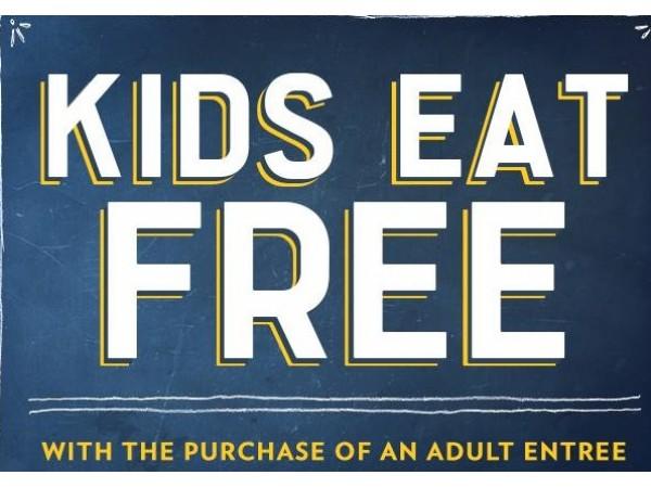 Kids Eat Free Restaurant Thursday