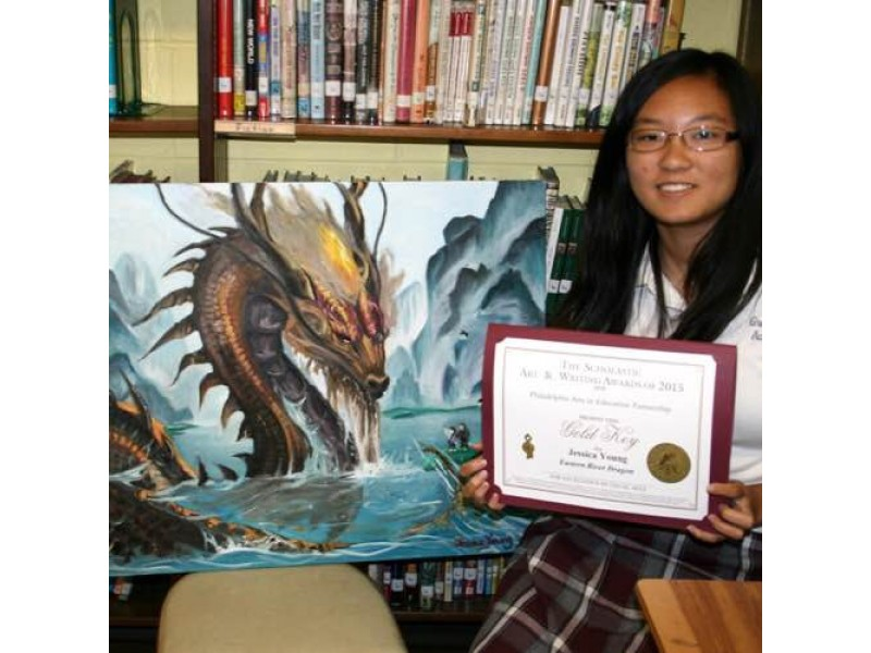 scholastic art and writing awards gold key winners