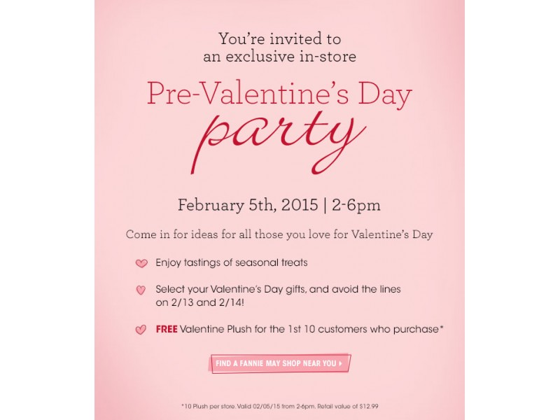 Fannie May Hosts Pre-Valentine\'s Day Party at Local Store on ...