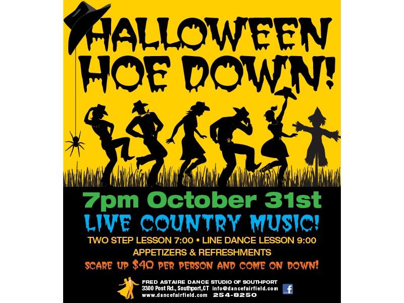 Halloween Hoe Down Country Dancing