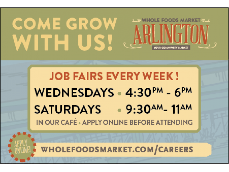 Whole Foods Arlington Ma Hiring