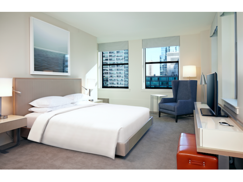 Hyatt centric the loop chicago launches facebook for Hotels in chicago under 100