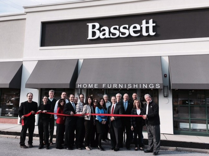 home decor stores in nj bassett home furnishings opens new in livingston 12541