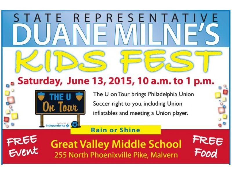 Milne Hosting Kids Fest In Malvern Next Week Malvern Pa