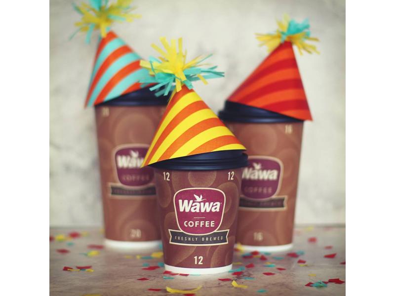 wawa 50th anniversary free coffee