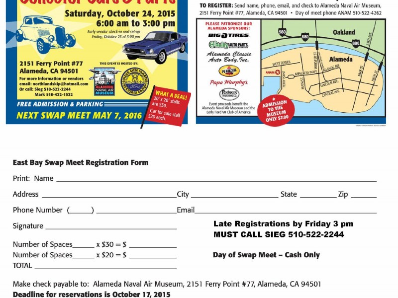 East Bay Swap Meet Collector Cars & Parts | Alameda, CA Patch