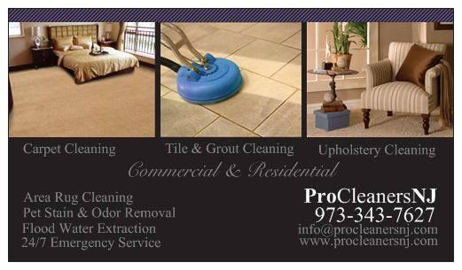Carpet Tile Upholstery Cleaning Berkeley Heights Nj