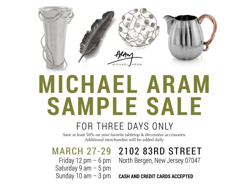 Michael Aram Sample Sale | Paramus, NJ Patch