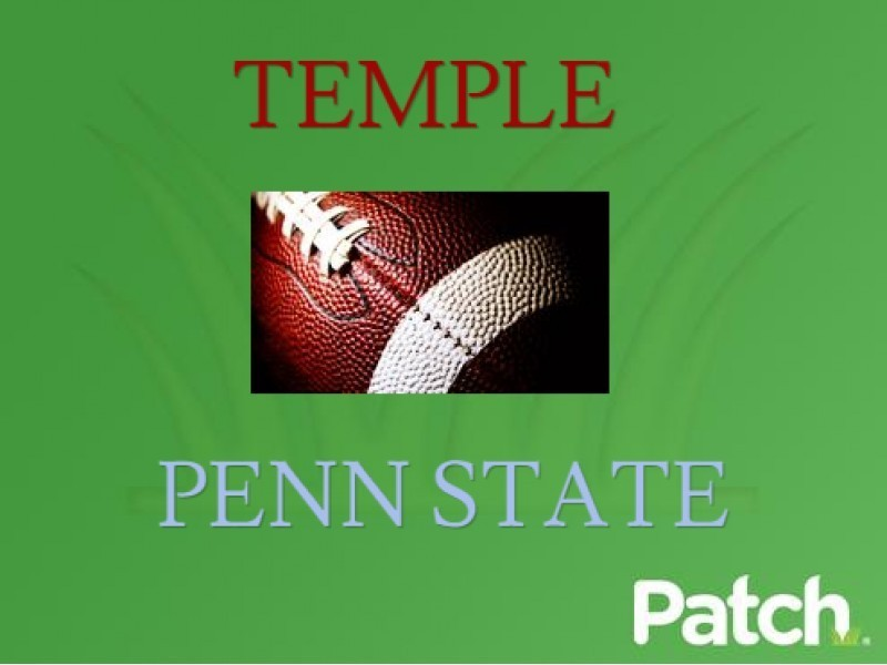 Penn State Vs Temple College Football Live Scores And