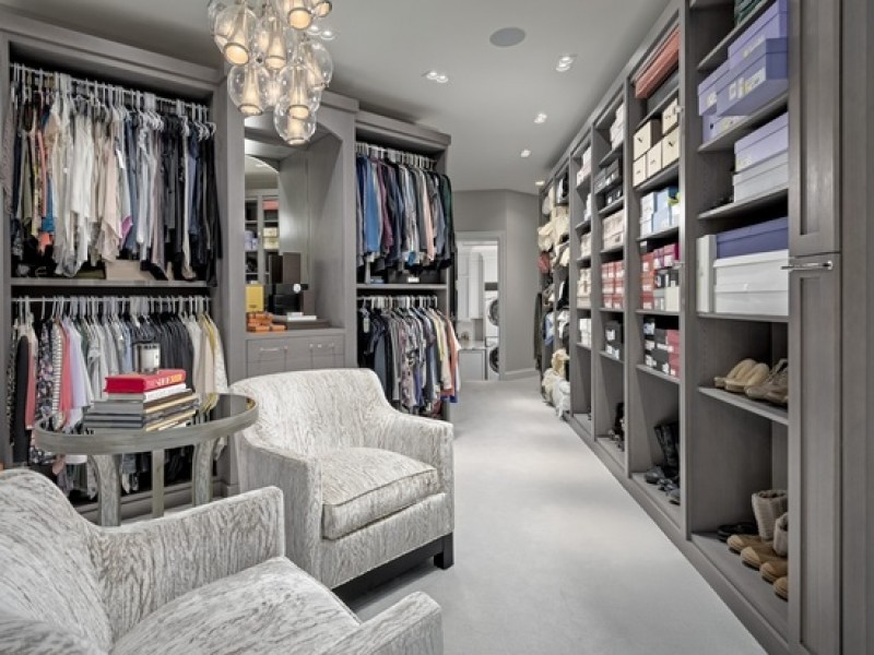 Massive Mens Luxury Walk In Closet Source Houses With Closets Home Design Ideas And Pictures
