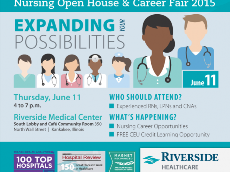 Nursing open house career fair june 11 at riverside - Garden state healthcare associates ...