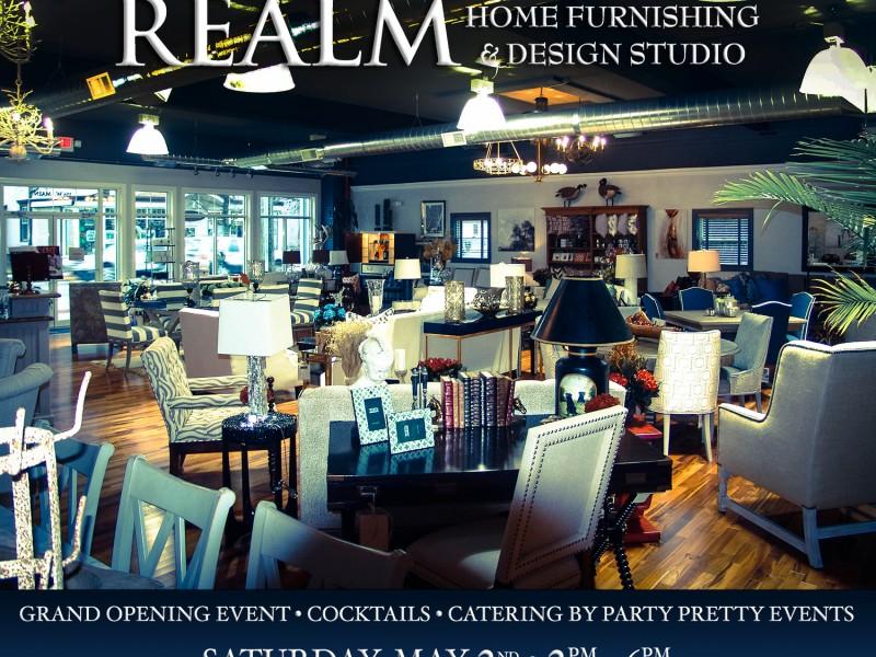 Realm Home Furnishing Design Studio Grand Opening Event Babylon