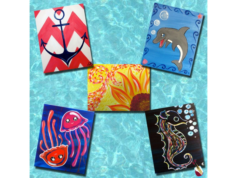 Painting With A Twist Jenkintown S Kids Classes Abington Pa Patch