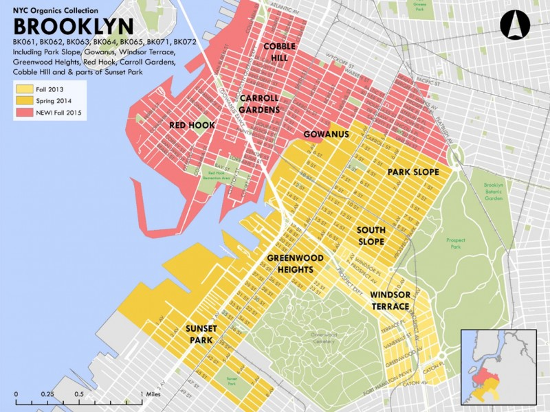 6 More Brooklyn Neighborhoods to Get Curbside Compost Collection