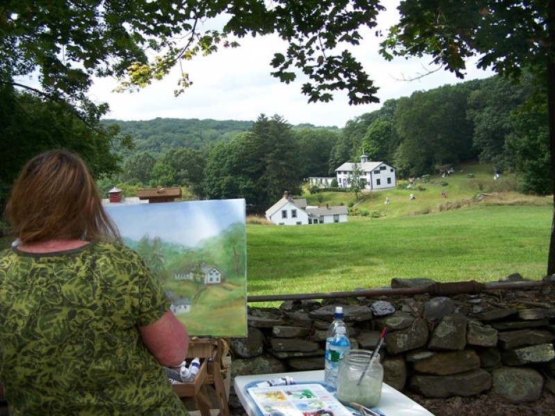 Artists 39 day at valley falls vernon ct patch for Garden barn vernon ct