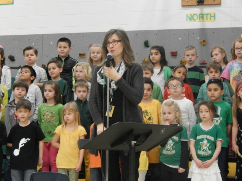 Goodings Grove first-graders celebrate music with spring showcase | Homer Glen, IL Patch
