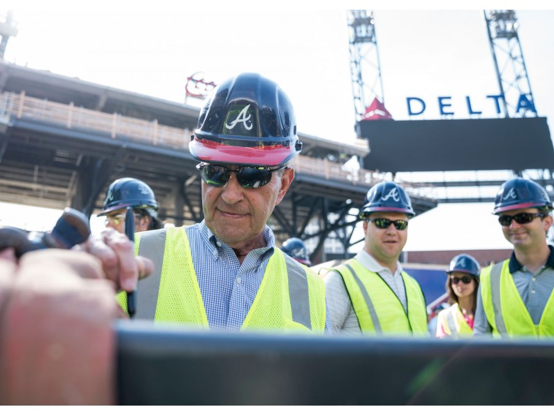 ... Braves Hold 'Topping Out' Ceremony as SunTrust Park Takes ...