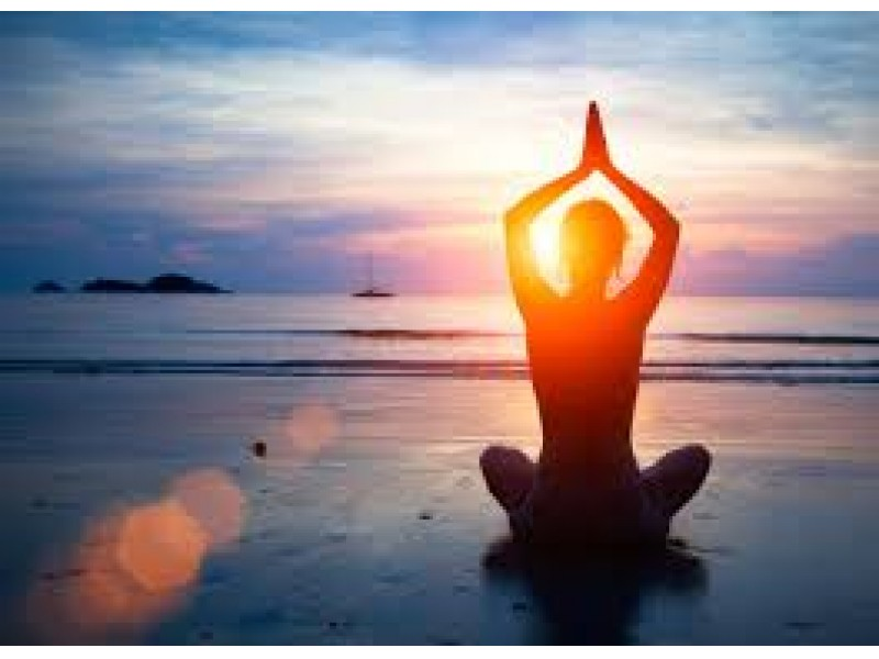 Sunset Yoga On The Beach At Branford Point
