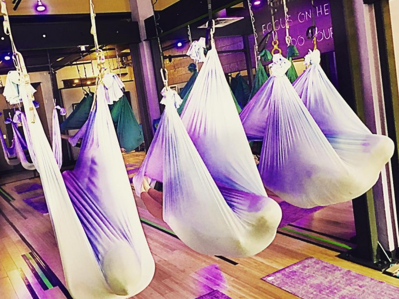 Swet studio will host outer space antigravity aerial for Outer space studios