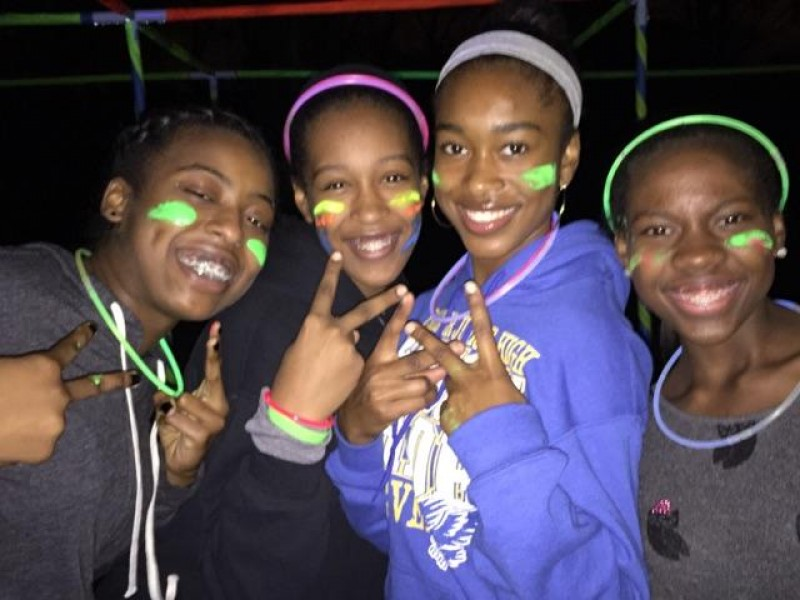 Black teen party
