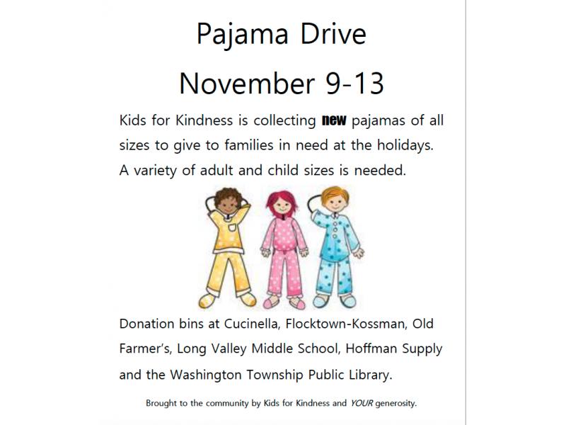Kids4kindness Collecting Pajamas And Hoodies Fleeces
