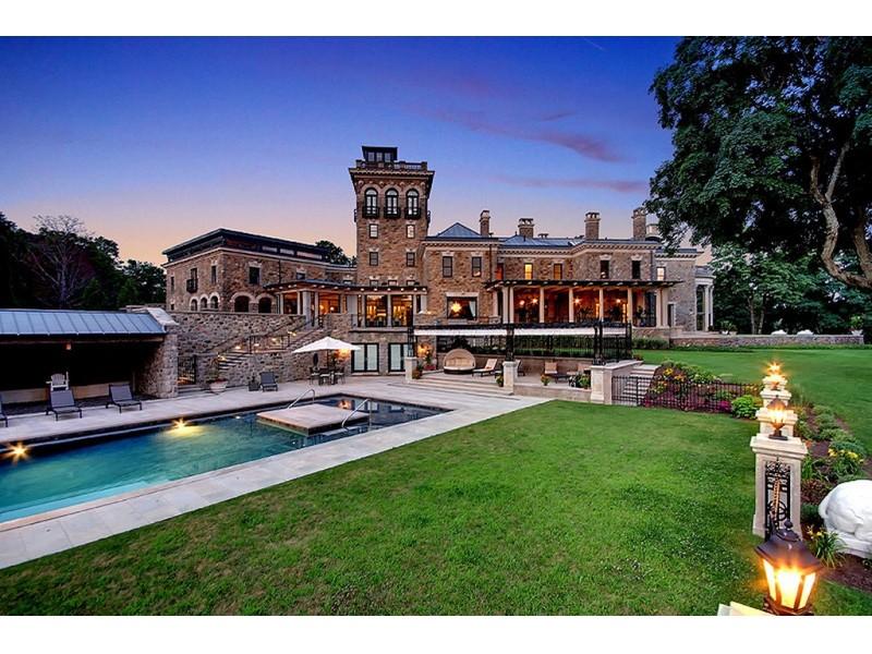 15 million home for sale in bernardsville bernardsville for Modern homes nj