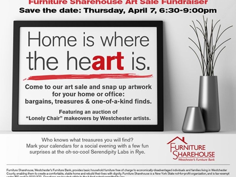 Home Is Where The Heart Is Art Sale Fundraiser Rye Ny Patch