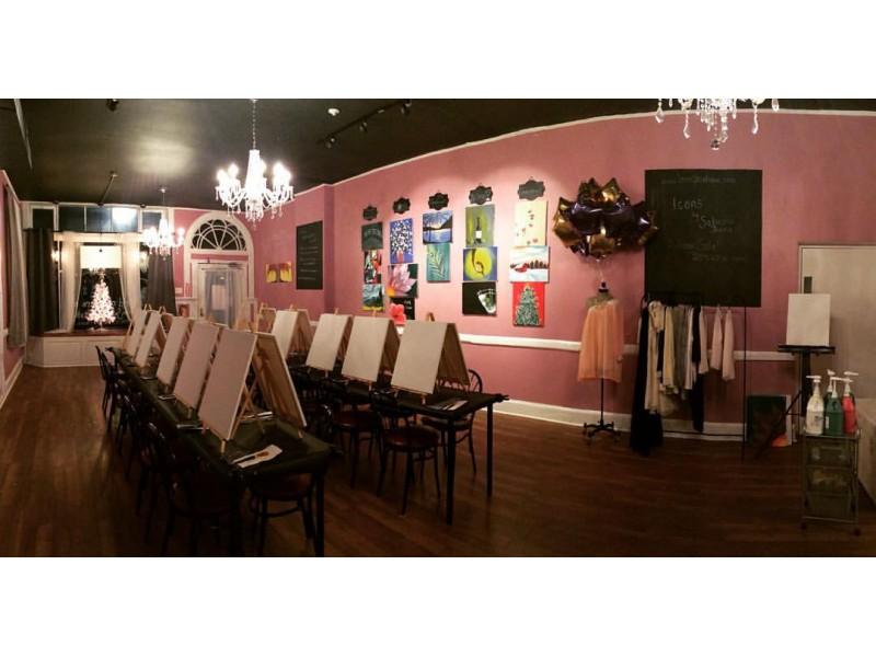 first paint sip art studio of morristown morristown