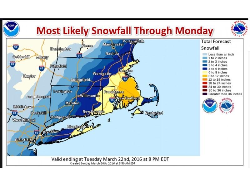 Arlington Weather Map.Arlington S Weather Forecast Snowstorm Sunday Night Into Monday