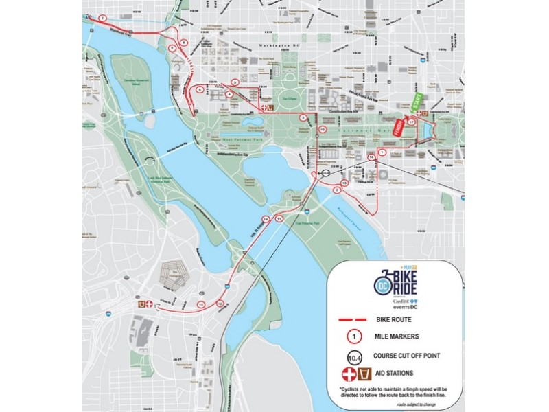 DC Bike Ride Causing Major Road Closures This Weekend Heres Where