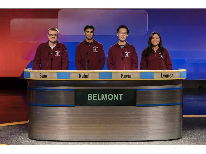 WGBH High School Quiz Show: Belmont High Advances to Quarterfinals