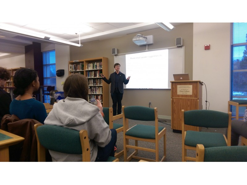 Tire Patch Cost >> The Sharon STEM Talks are off to a great start at Sharon ...