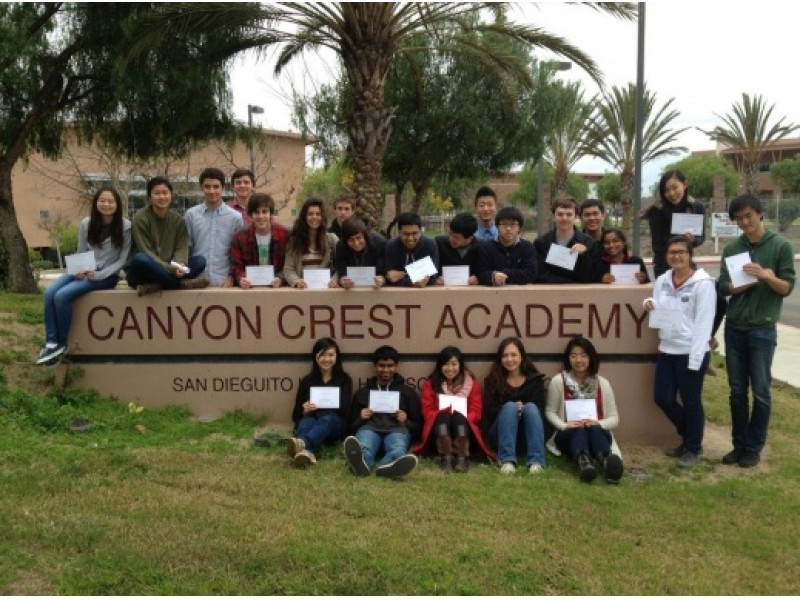 Gas Prices San Diego >> Canyon Crest Academy Ranked 5th Best High School in California | Del Mar, CA Patch