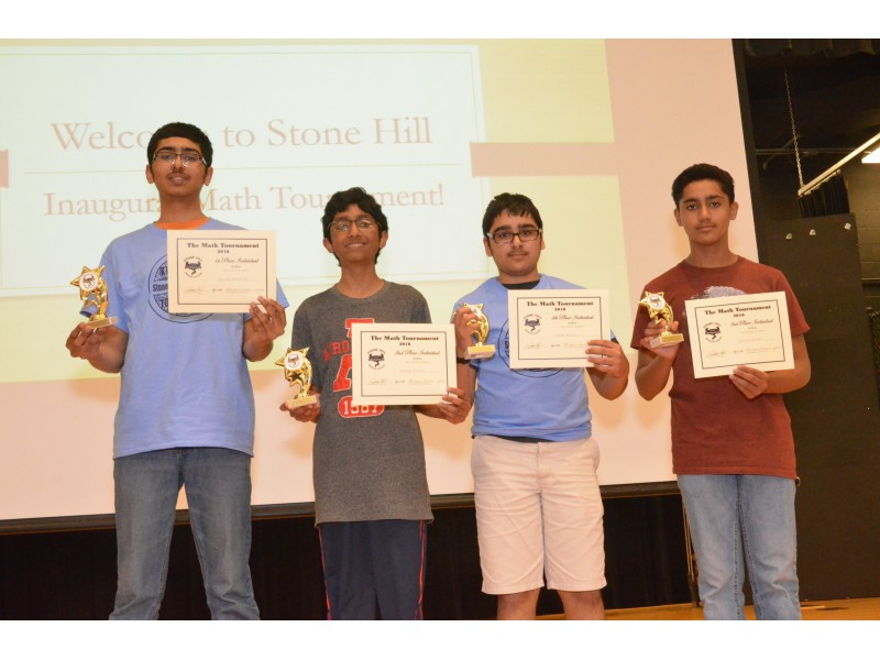 Inaugural Middle School Math Tournament At Stone Hill