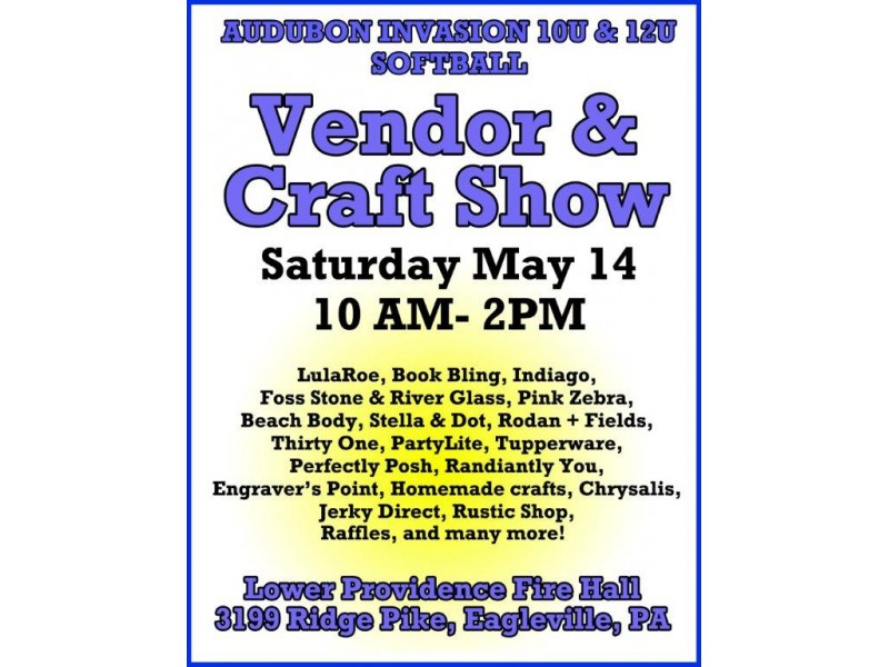 Vendor craft show norristown pa patch for Craft shows in montgomery county pa