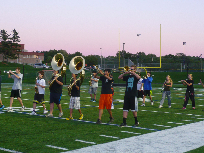 Montville High School Marching Band Competition | Montville