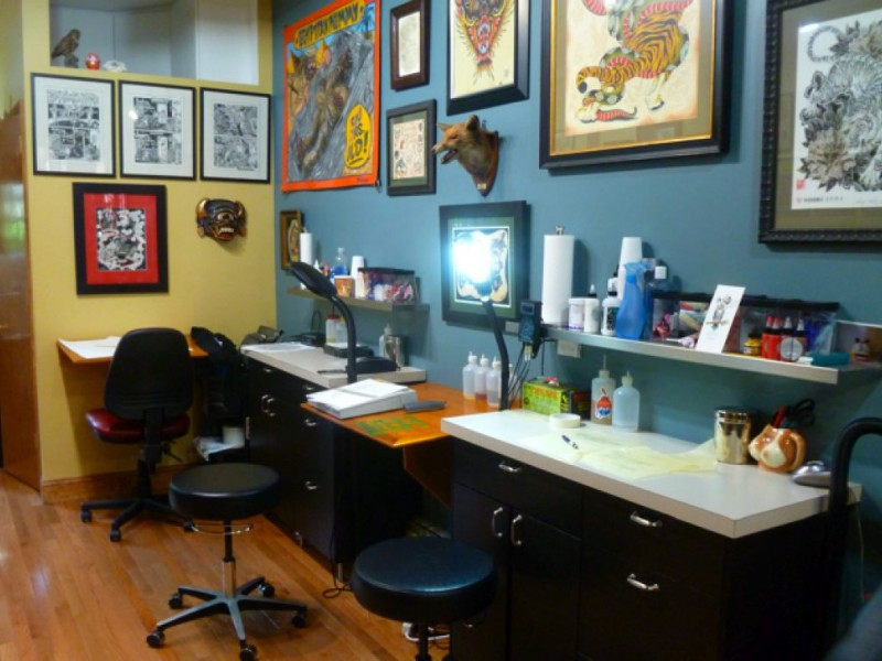 redefining the tattoo parlor park slope ny patch. Black Bedroom Furniture Sets. Home Design Ideas