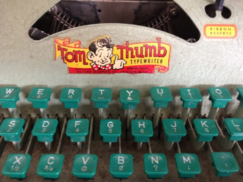 Antique of the Week: Tom Thumb Typewriter   Guilford, CT Patch