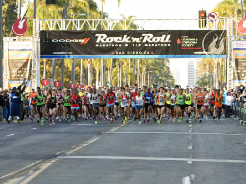 What You Need to Know About San Diego's Rock 'n' Roll Marathon