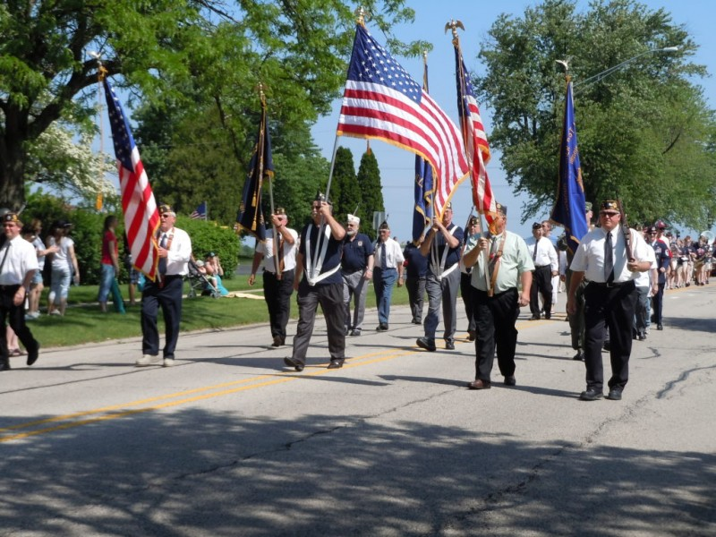 cary remembers veterans with memorial day parade  service